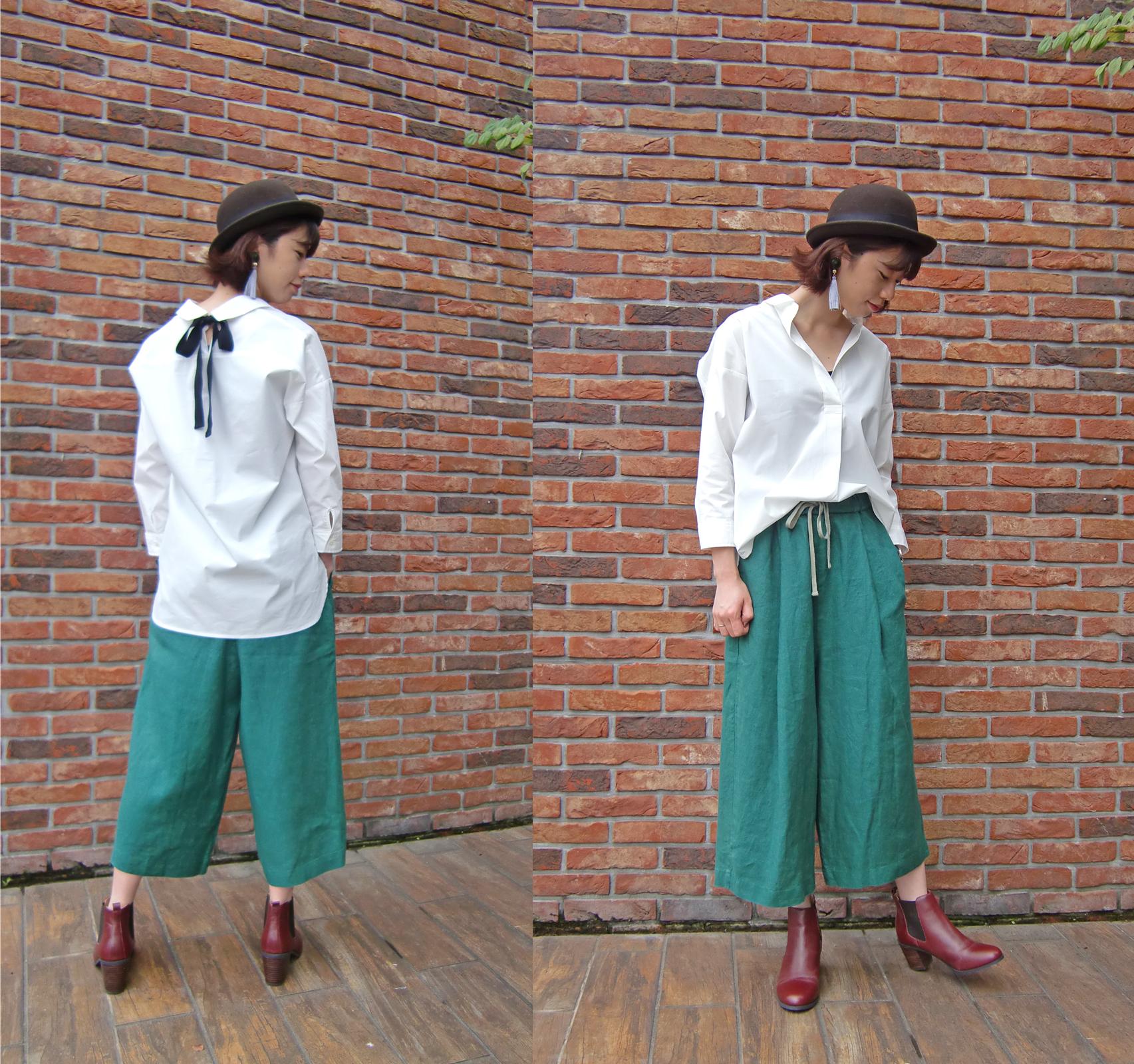 タイプライターリボンシャツ